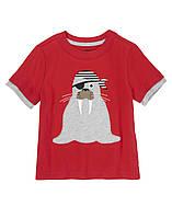 Детская футболка для мальчика  12-18 месяцев
