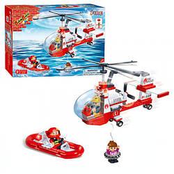 Детский конструктор Пожарный вертолет, 150 деталей, 8305