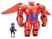 Набор интерактивный Бэймакс и Хиро, Беймакс Большой Герой, Big Hero 6 Baymax, Bandai, Оригинал из США