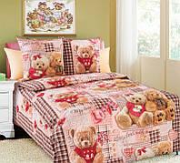 Детское постельное белье полуторное Мишки Тедди