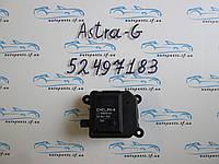Привод заслонки печки Astra G, Астра 52497183