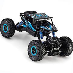 Машина Джип на радиоуправлении Кравлер Синий Toydaloo Remote 4WD Monster Crawler