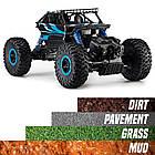 Машина Джип на радиоуправлении Кравлер Синий Toydaloo Remote 4WD Monster Crawler, фото 3