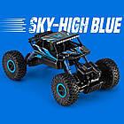 Машина Джип на радиоуправлении Кравлер Синий Toydaloo Remote 4WD Monster Crawler, фото 5