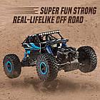 Машина Джип на радиоуправлении Кравлер Синий Toydaloo Remote 4WD Monster Crawler, фото 6