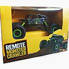 Машина Джип на радиоуправлении Кравлер Синий Toydaloo Remote 4WD Monster Crawler, фото 7