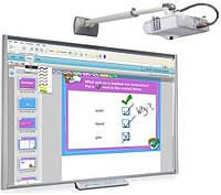 Интерактивный комплект - доска SMART Board SBM680V + проектор InFocus InV30