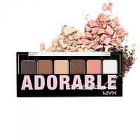Палитра теней - NYX The Adorable Shadow Palette