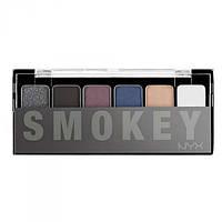 Палитра теней - NYX The Smokey Shadow Palette