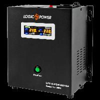 ИБП с правильной синусоидой LogicPower LPY-W-PSW-800VA+ (560W) 5A/15A 12V для котлов и аварийного освещения