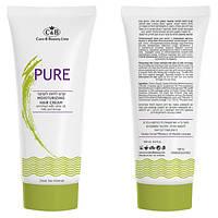 Увлажняющий крем для волос с оливковым маслом и медом Care & Beauty Line Moisturizing Hair Cream Enriched with Olive, Milk and Honey
