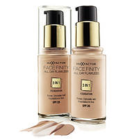 Тональная основа Max Factor Facefinity All Day Flawless 3 in 1