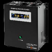 ИБП с правильной синусоидой LogicPower LPY-W-PSW-1500VA+ (1050W) 10A/15A 24V для котлов и аварийного освещения