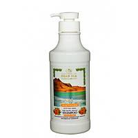 Шампунь с облепихой против ломкости и выпадения волос Care & Beauty Line Shampoo Enriched with Obliphica