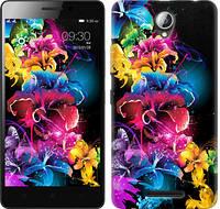 """Чехол на Lenovo A5000 Абстрактные цветы """"511c-119-328"""""""