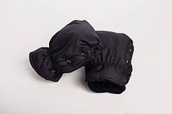 Муфта-рукавицы на коляску DECOZA.MOMS оксфорд Черный (DM-MO-4)