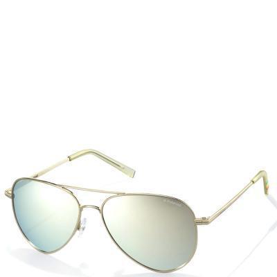Солнцезащитные очки Polaroid Очки солнцезащитные детские с ультралегкими  поляризационными зеркальными линзами POLAROID (ПОЛАРОИД) P8015N f89bb4bc64e