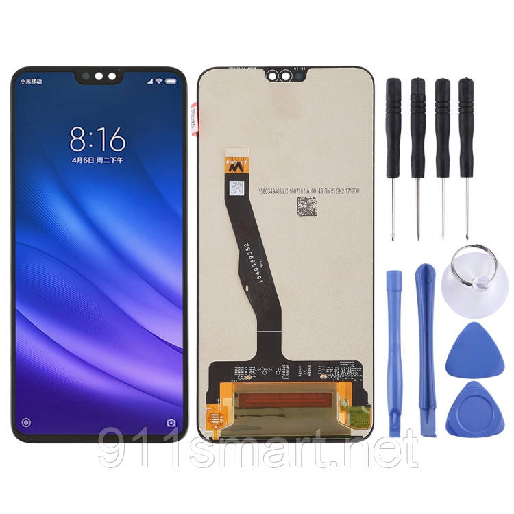 LCD дисплей, модуль, экран для Huawei Honor 8X чёрный
