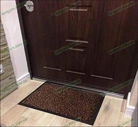 Коврик грязезащитный Узор, 60х90см., коричневый