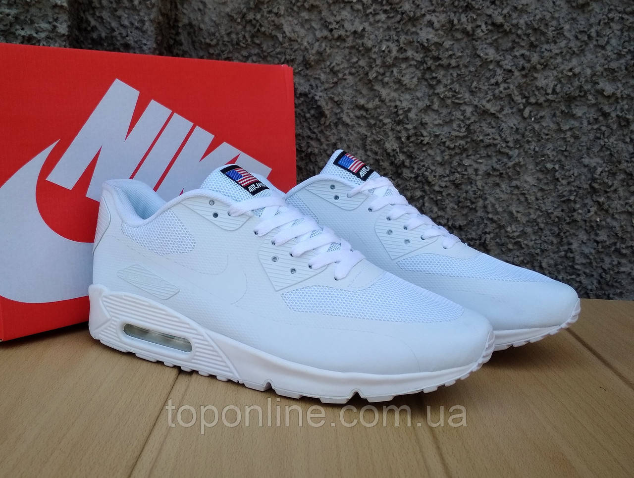Кроссовки Nike Air Max Hyperfuse Independence Day white  продажа ... 39f6005eaaa