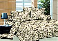Комплект постельного белья Ажур бежевый