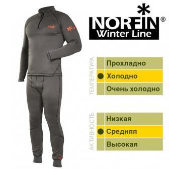 Термо белье Norfin Winter Line Gray XXL 3036005-XXL