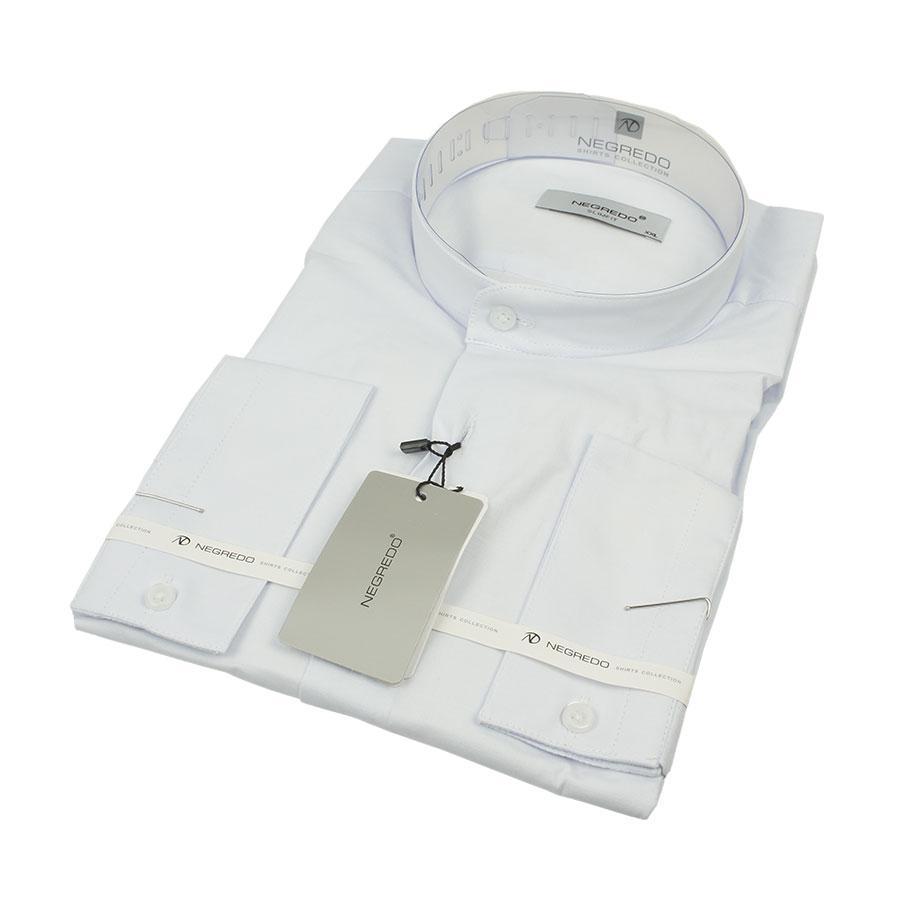 Мужская белая рубашка Negredo 010-H C:12