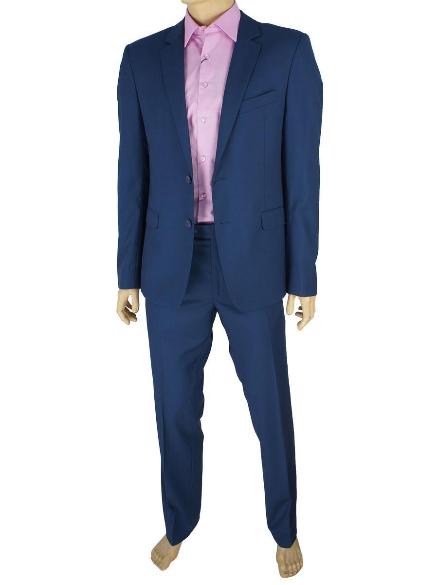 Мужской костюм Legenda Class 2532 120 в синем цвете - Магазин мужской  одежды