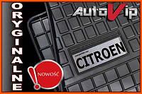 Резиновые коврики CITROEN C4 2004-  с логотипом, фото 1