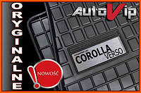 Резиновые коврики COROLLA VERSO 04-  с логотипом, фото 1