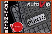 Резиновые коврики FIAT PUNTO EVO 09-  с логотипом, фото 1