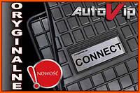 Резиновые коврики FORD CONNECT 2011-  с логотипом, фото 1