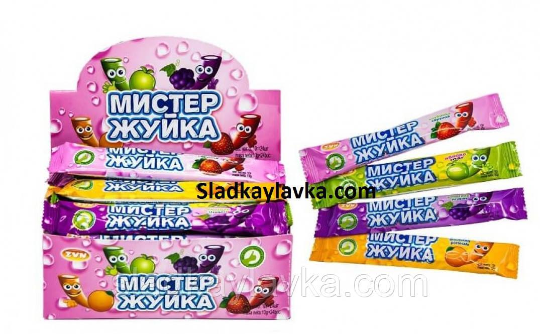 Жувальні цукерки Містер Жуйка 24 шт(ZVN)