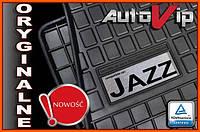 Резиновые коврики HONDA JAZZ IV 2015-  с лого, фото 1