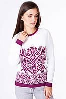 Вязаный свитер с орнаментом «Дерево жизни», фото 1