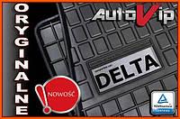 Резиновые коврики LANCIA DELTA 08-  с логотипом, фото 1