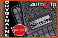 Резиновые коврики MERCEDES GL-KL X166  с логотипом, фото 1