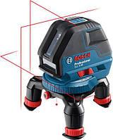 Нивелир BOSCH GLL 3-50 лазерный, L-BOXX 136, угловая  пластина для отражения лучей