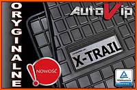 Резиновые коврики NISSAN X-TRAIL T30 2001-  с логотипом, фото 1