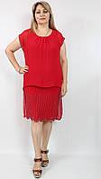 Красное платье для торжественных мероприятий
