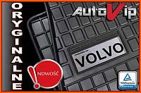 Резиновые коврики VOLVO S60 S80 1998-  с логотипом, фото 1