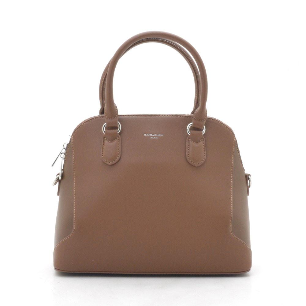 Женская сумка D. Jones brown (коричневая)
