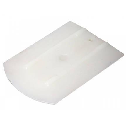 21910588 Эргономичный ракель, белый - 100PP WRAP - Uzlex Ergonomic Squeegee white, 4''+ (110x90mm+30*), фото 2