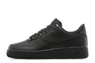 Оригинальные мужские кроссовки Nike Air Force Low All Black | Мужские кроссовки найк аир форс лоу черные 40