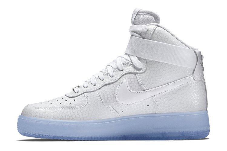 f9aa5862 Мужские кроссовки Nike Air Force High All Pearl | Мужские кроссовки найк  аир форс белые -