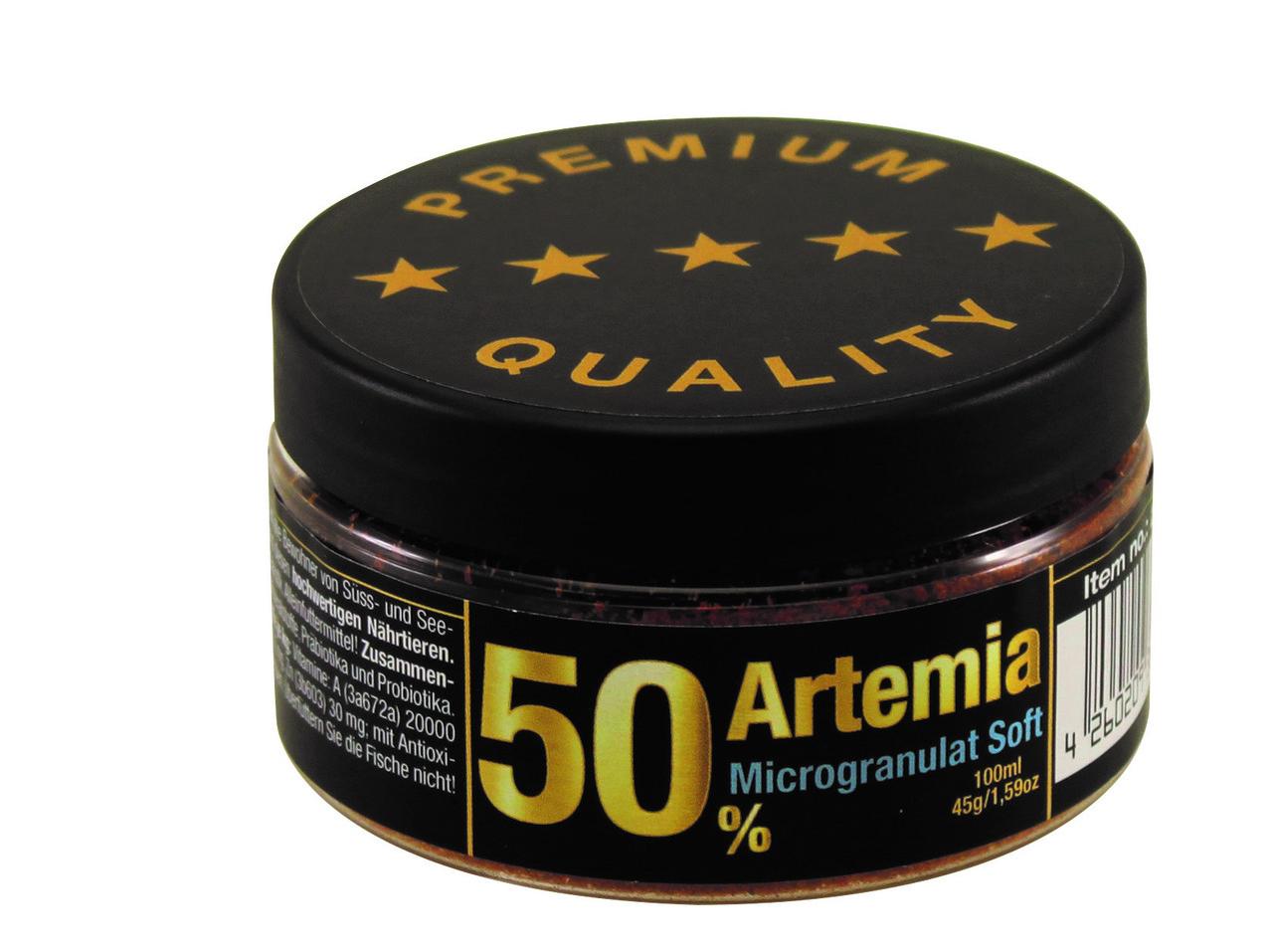 Корм для Дискусов и других рыб. Artemia 50%+ Microgranulate Discusfood. Микрогранулы.