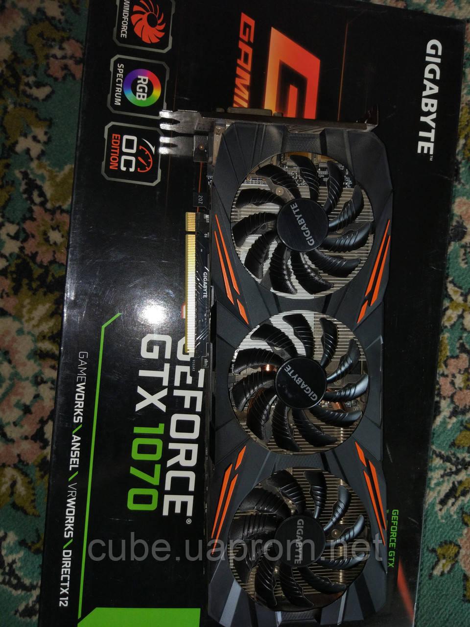 Ігровий комп'ютер Max 2018 Xeon 1650 4.1 Ghz/16Gb /HDD_1000Gb /GIGABYTE GeForce GTX 1070 G1