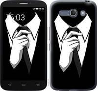 """Чехол на Alcatel One Touch POP C9 Галстук """"2975c-319-328"""""""