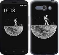 """Чехол на Alcatel One Touch POP C9 Moon in dark """"4176c-319-328"""""""