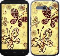 "Чехол на Alcatel One Touch POP C9 Красивые бабочки ""4170c-319-328"""